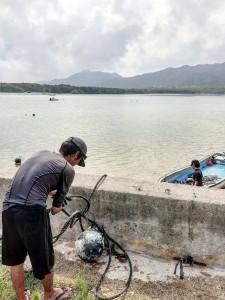 琉球真珠 石垣島川平湾 真珠養殖